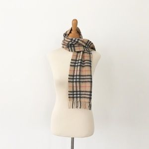 Accessories - Cashmere Plaid and Checkered Scarf